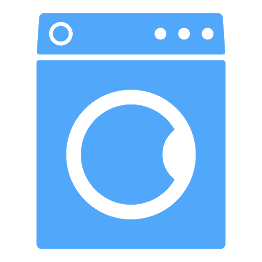 Coin-operated washer and dryer in the building