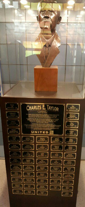 CHARLES E. TAYLOR  THE CHARLES TAYLOR MASTER MECHANIC AWARD IS AN HONOR PRESENTED BY THE UNITED STATES FEDERAL AVIATION ADMINISTRATION IN HONOR OF CHARLES TAYLOR, THE FIRST AVIATION MECHANIC IN ...