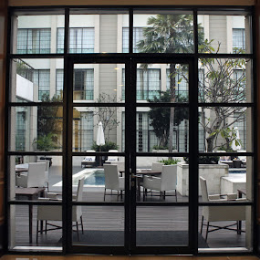 Puzzle Window by Ryan Alamanda - Buildings & Architecture Office Buildings & Hotels