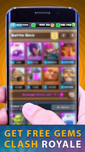Free Gems Of Chest Clash Royal Free APK for Windows 8