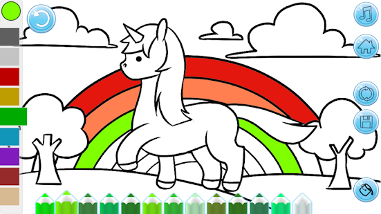 About Kids Coloring Book Paint Draw Game