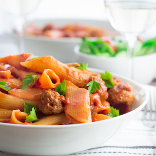 One-pot Spicy Sausage Pasta