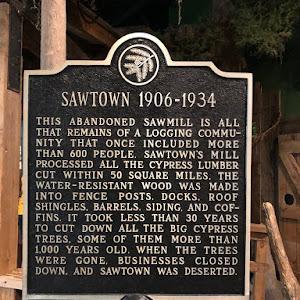 Sawtown 1906 - 1934