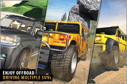 Offroad Jeep Driving Simulator - Jeep Simulator screenshot 2