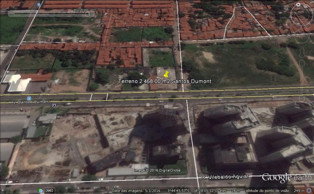 Terreno à venda, 2468 m² por R$ 12.340.000 - Papicu - Fortaleza/CE
