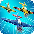 Retro Planes Aircraft Flight: Battle in the Sky