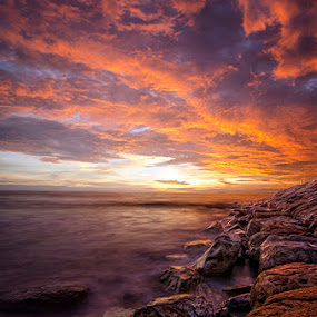 Padang Beach by Syaiful Anwar - Landscapes Sunsets & Sunrises
