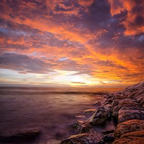 Padang Beach by Syaiful Anwar - Landscapes Sunsets & Sunrises