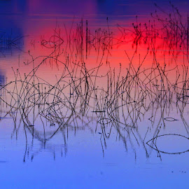 Abstract-Water by Aung Kyaw Soe - Abstract Light Painting