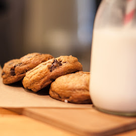Milk & Cookies by Brianne Toma - Food & Drink Plated Food ( dish, cuisine, california, plated food, culinary, restaurant, american, milk, food, escondido, the wooden spoon, cookies, plating, dessert )