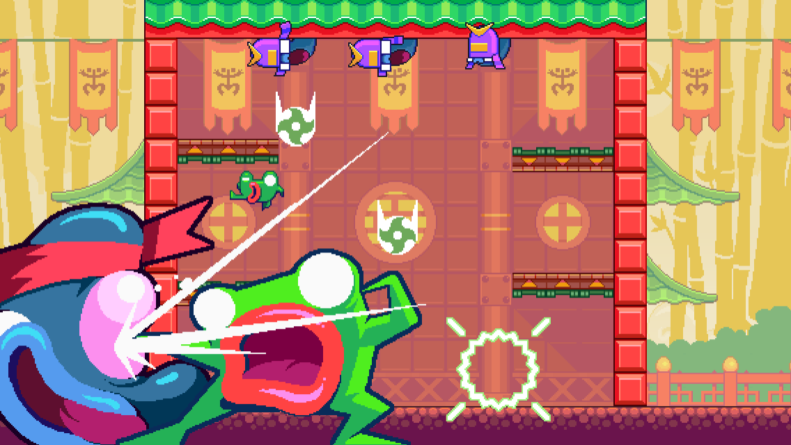 Green Ninja: Year of the Frog Screenshot 3