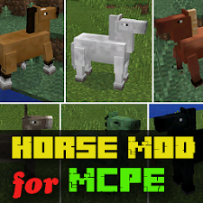 Horses MOD for Minecraft PE