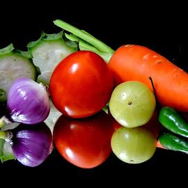 MIX VEG by SANGEETA MENA  - Food & Drink Fruits & Vegetables (  )