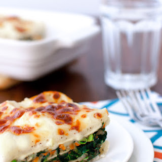 Vegetable Alfredo Lasagna