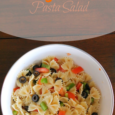 5 Ingredient Pasta Salad