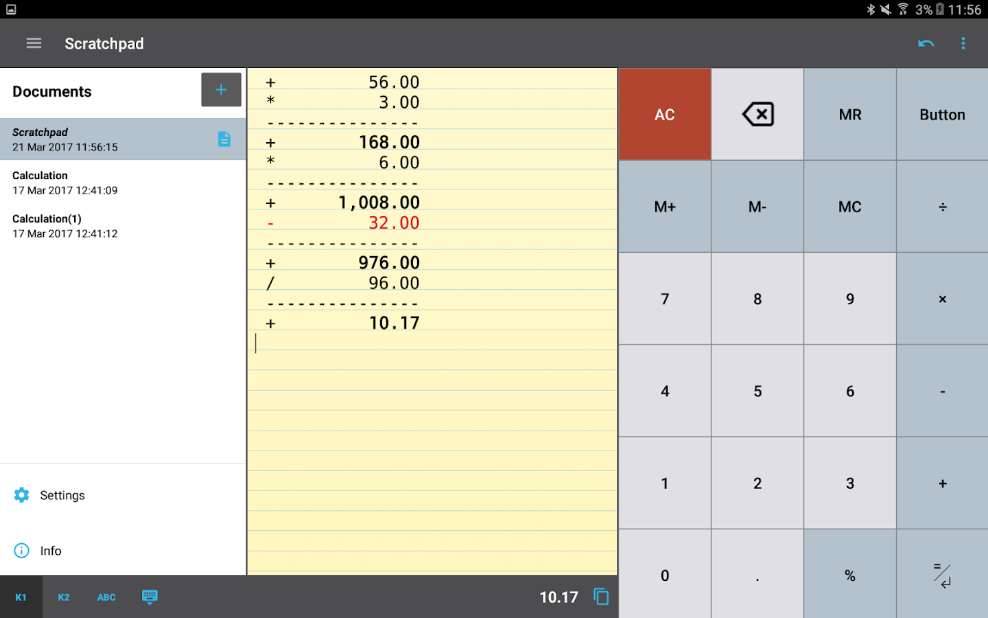 CalcTape Calculator with Tape Screenshot 10