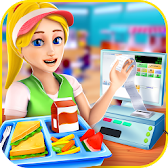 High School Cafe Manager APK Icon