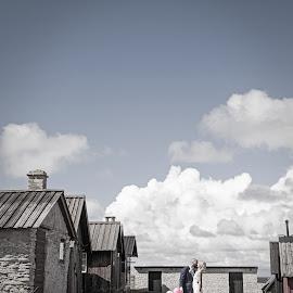 Nordic wedding by Emily Evans - Wedding Bride & Groom ( sweden, pastels, gotland, wedding, balloons, bride, groom, weddingphotographer )
