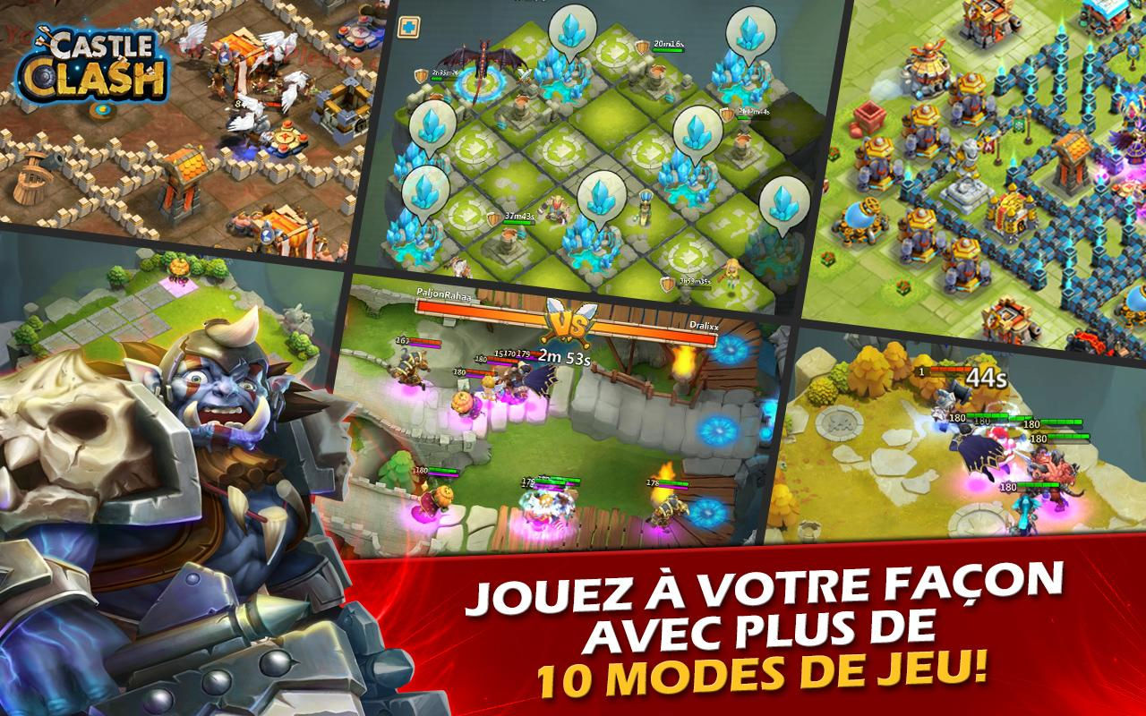 Castle Clash: Ère des Légendes Screenshot 0