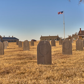 Peace Time  by Jeff Brown - City,  Street & Park  Cemeteries ( cemetery, fort, military )