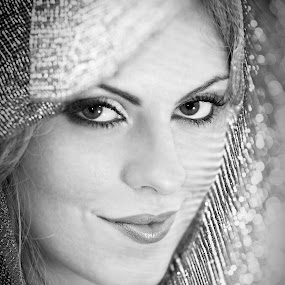 Beauty by Ro Ducay - People Portraits of Women ( beauty, veil, bride, eyes )