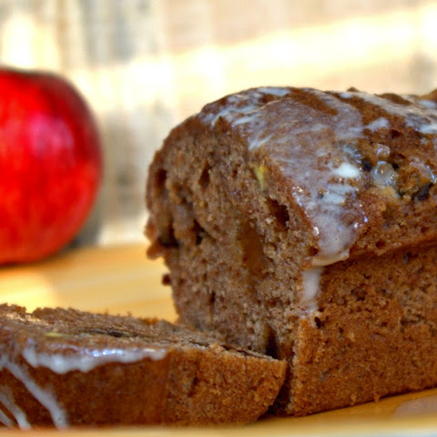 Mini Apple Harvest Bread with Apple Glaze
