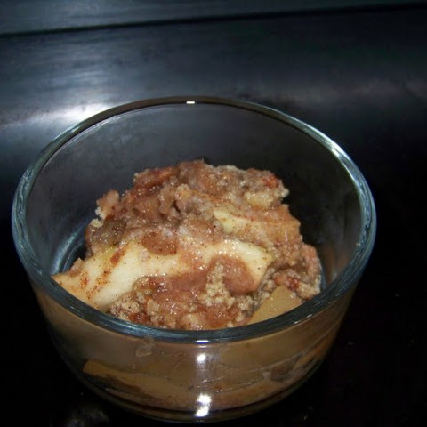 Mock Apple Crisp from Zucchini