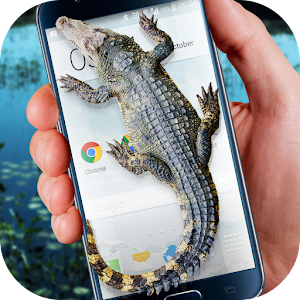 Download Crocodile in Phone Big Joke For PC Windows and Mac
