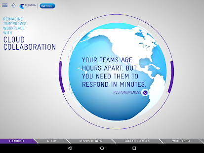Telstra Cloud Collaboration - screenshot