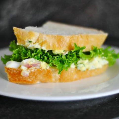 Egg Salad Sandwiches With Tarragon