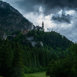 Neuschwanstein Castle by F Kelly - Buildings & Architecture Public & Historical ( king ludwig ii, fairy tale, castle, germany, neuschwanstein castle, hohenschwangau )
