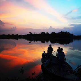 RETURN JOURNEY by Dipankar Singha - Landscapes Sunsets & Sunrises