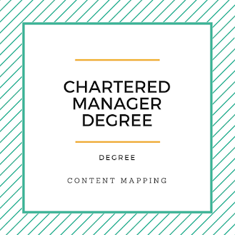 Chartered Manager Degree