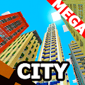 Mega city map for minecraft PE APK for Bluestacks