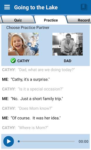 English Conversation Practice - screenshot