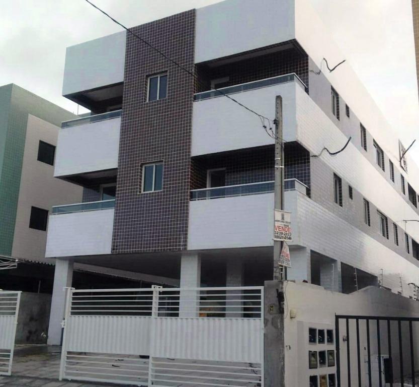 Apartamento residencial à venda, Jardim Cidade Universitária, João Pessoa - AP5146.