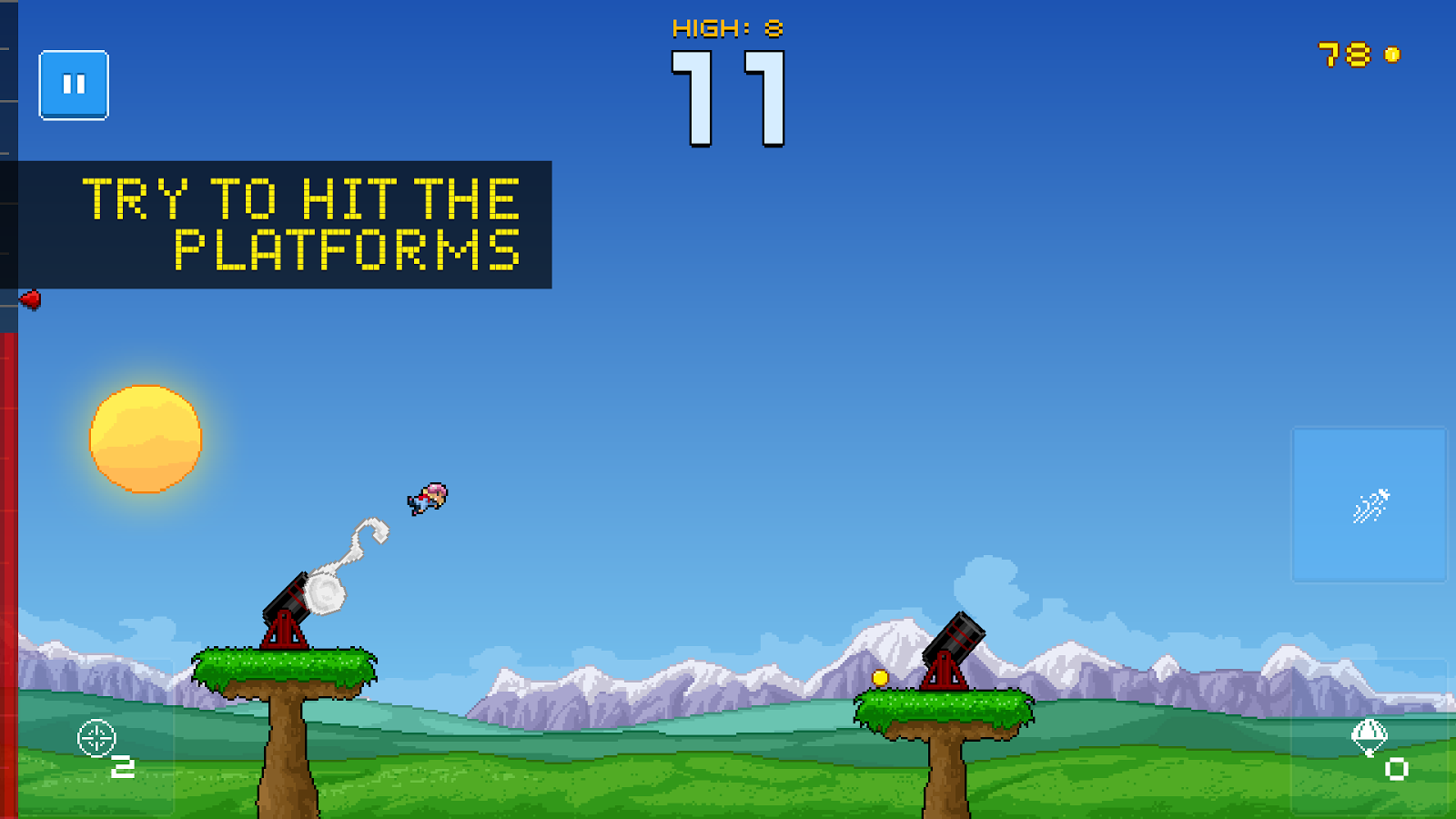 Human Cannonball Screenshot 1