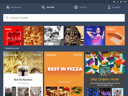 App Tumblr apk for kindle fire