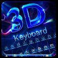 Neon 3D Typewriter-Hologram