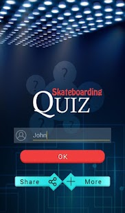 Skateboarding Quiz - screenshot