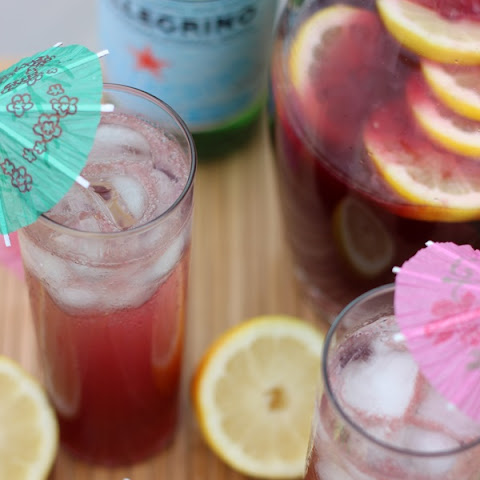 Red Wine Citrus Spritzer