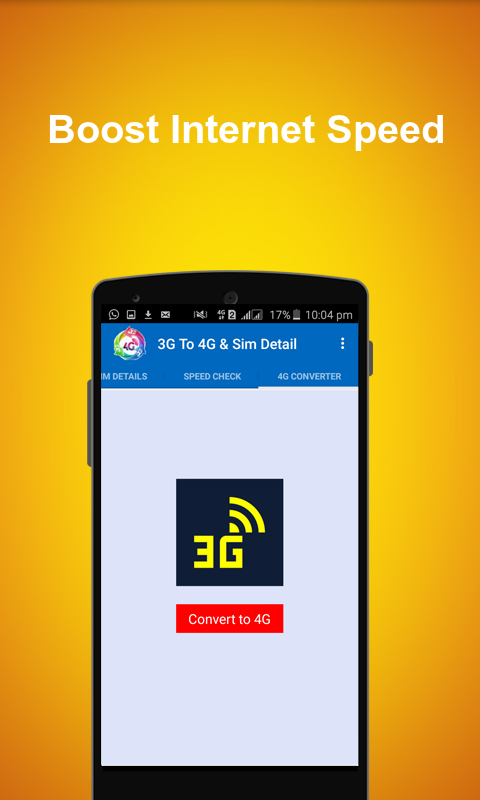 3G To 4G Converter PRO Screenshot 6
