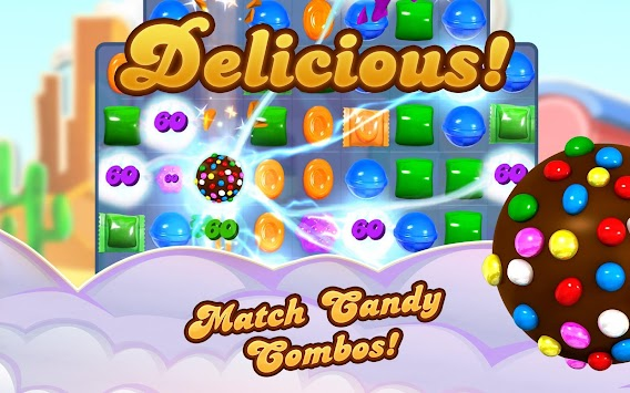 Candy Crush Saga APK screenshot thumbnail 13