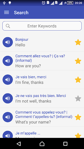 Learn French daily - Awabe screenshot 7