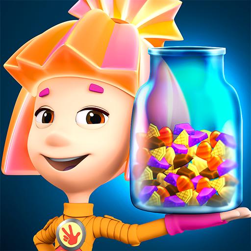 Fixiki Cake Bakery Games & Chocolate Factory Games (game)