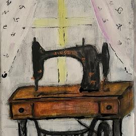 I miss you mum by Vanja Škrobica - Painting All Painting