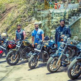#salemharley sunday ride by Prabu Sankar - Transportation Motorcycles