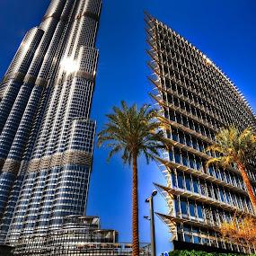 The Burj Khalifa by Darren Tan - Buildings & Architecture Architectural Detail ( dubai, buildings, architecture, burj khalifa )