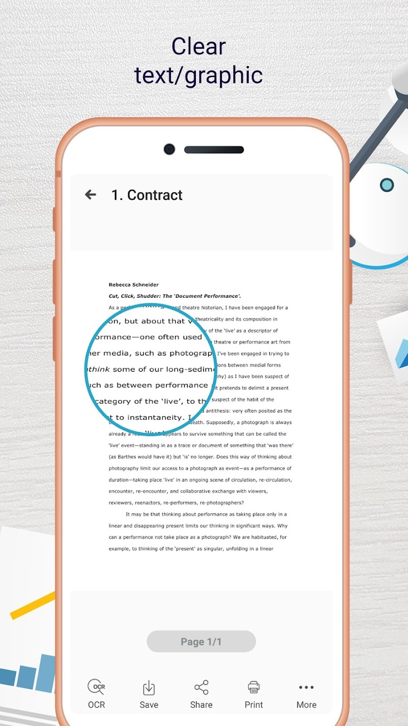 Easy Scanner - Camera to signed PDF Screenshot 3