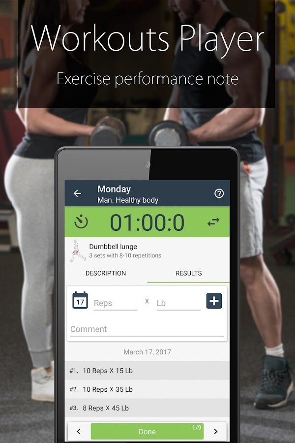 Fitness Coach FitProSport FULL Screenshot 4